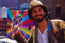 Brasilianske street art konstnären Kobra senaste tillskottet till No Limit Borås