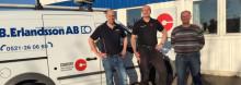Djupedals Rör förvärvar Rörledningsfirma B. Erlandsson Aktiebolag