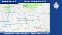 Witness appeal after woman touched inappropriately in Guildford underpass
