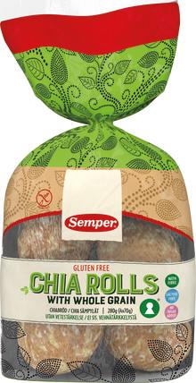 Glutenfrie nyheter fra Semper september 2017