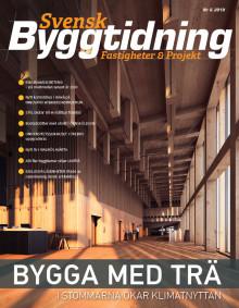 Nya numret av Svensk Byggtidning nr 6 2018 ute nu!