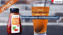 NYHET: Biopharma nypeekstrakt i kampen mot snørr og sår hals!
