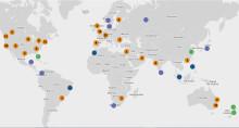 Sett ditt bærekraftige bygg på verdenskartet