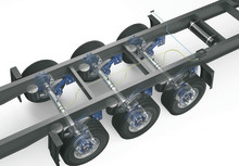 Always saving fuel, tyres, time and CO2: BPW now delivers the intelligent AirSave tyre pressure control system