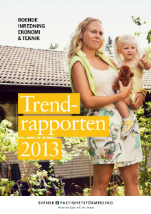 Trendrapporten 2013: Svenskarna älskar sin TV och drömmer om självstädande hem