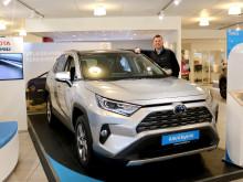 Høy Toyota-etterspørsel i april i Mosjøen