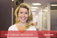#WeArePR: Møt Microsoft Sveriges CMO Karin Zingmark