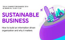 Hållbara affärer på Telia Connect2Business 2019