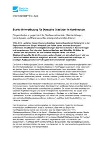 Starke Unterstützung für Deutsche Glasfaser in Nordhessen