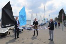 Das Segelprojekt Camp 24/7 ist eröffnet. Segelspaß in Kiel.Sailing.City