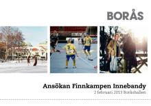 Borås kan få stå värd för Finnkamp i innebandy 2013
