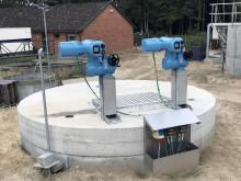 Danish wastewater plant opts for actuator automation using CK Centronik modular actuators