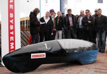 Istapp vid namn Skilži - LTU studenternas nya bil
