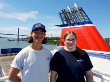 Matroser jobber frivillig for Mercy Ships