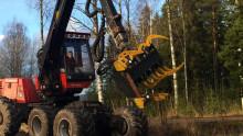 Utveckling av aggregat för klenträdsavverkning