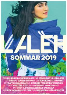 Laleh turné poster