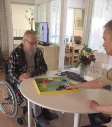 En hälsning inifrån gruppboendet Brogården i Sunne
