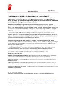 Findus lanserar SMAK – färdigmat du inte trodde fanns!