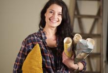 Maria Celin bjuder in till loppisverkstad på Bomässan