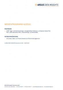 Medienprogramm - Auszug