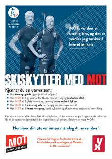Skiskytter med MOT til Dombås 8.-10. november