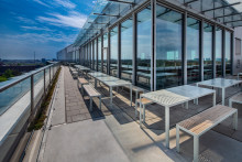Nola furnish the terrace at the awarded Biomedicum
