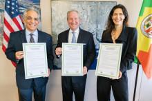 Port of Los Angeles og Copenhagen Malmö Port underskriver samarbejdsaftale om bæredygtighed og miljø