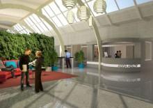 Bredablick Fastighetspartner bygger om Assa Abloys nya huvudkontor i Landskrona