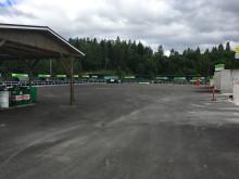 Modern återvinning i Hamrånge