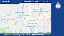 Appeal for witnesses following serious assault in Guildford