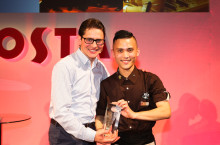 Hounslow barista wows judges with drink innovation to win top speciality drink title at Costa international final