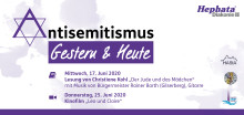 Antisemitismus – gestern und heute