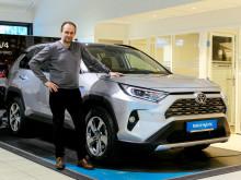 Toyota ble salgsvinner i Steinkjer