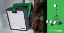 Schneider Electric klar med nyt sortiment af  arbejdslys til fagfolk og gør-det-selv'ere