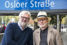 """Ny bok: """"Norwegerstrasse"""" av Jørgen Norheim og Alexander Häusser. Ei reiseskildring med utgangspunkt i gatenamn i Berlin"""