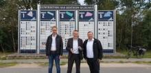 Glasfaserausbau in den Gewerbegebieten in Bad Bentheim: Bürgermeister und Deutsche Glasfaser informieren Unternehmen
