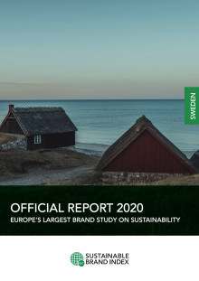 Officiell rapport Sustainable Brand Index 2020 - Sverige