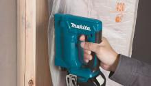 Makita lanserar 18V klammerpistol för krävande, dolda infästningar