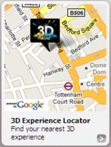 3D Experience Locator