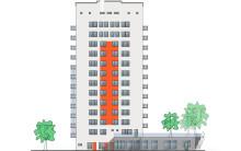 Riksbyggen uppför 50 bostadsrätter i förtätningsprojekt i Högdalen