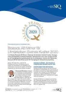 Pressmeddelande Utmärkelsen Svensk Kvalitet 2020.pdf