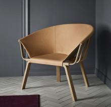 Pinot – en soffa och fåtölj som sätter konstruktionen ytterst