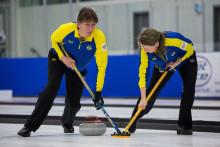 Curling-VM mixed dubbel. Tredje raka för lag Noreen efter 8-6 mot Österrike