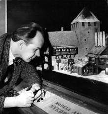 Invigning av Gripes modellteatersamling på Sörmlands museum