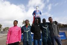 De vliegensvlugge topatleten van de TCS Amsterdam Marathon kijken uit naar snelle en spannende race aanstaande zondag