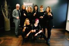 Erster Friseur-Salon Deutschlands mit 10 Calligraphy Cut-Gold-Stylisten in Münster