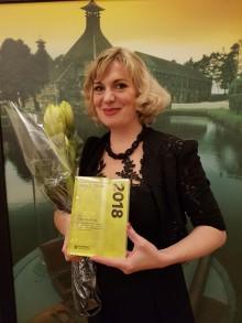 Tora Augestad kåret til Årets utøver 2018 av Norsk Komponistforening