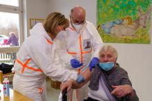 Erste Impfungen auf dem Stammgelände Hephatas sowie im Diakoniezentrum Frielendorf sorgen für Erleichterung
