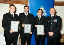 """Heroism, perseverance, and """"going the extra mile"""", celebrated at awards ceremony"""