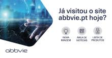 AbbVie Portugal renova site institucional e cria área de notícias